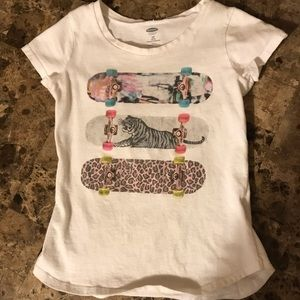 Girly Skateboard Tshirt